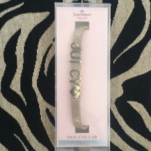 Juicy Couture Dog Collar 🐶💜💎